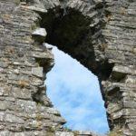Llansteffan Castle 1 - visit Wales